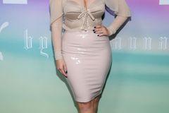 Ashley Graham bei der Show von Fenty Puma by Rihanna