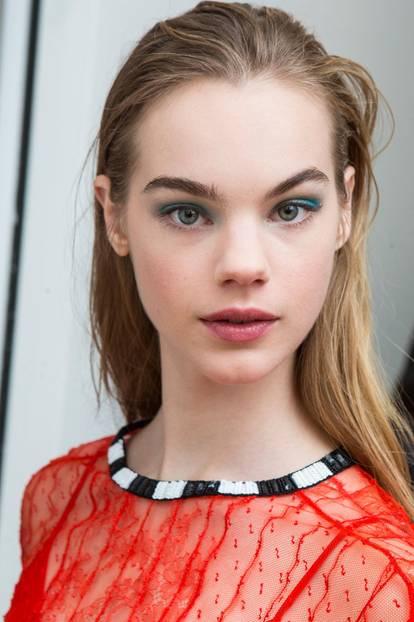 Make-up Trends 2018: Farbiger Lidschatten