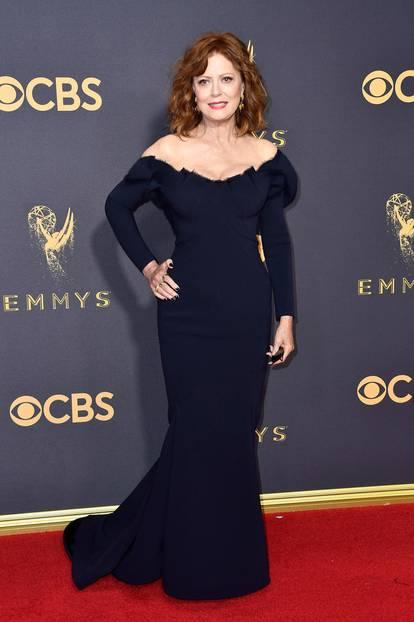 Emmys 2017 mit Susan Sarandon auf dem Roten Teppich
