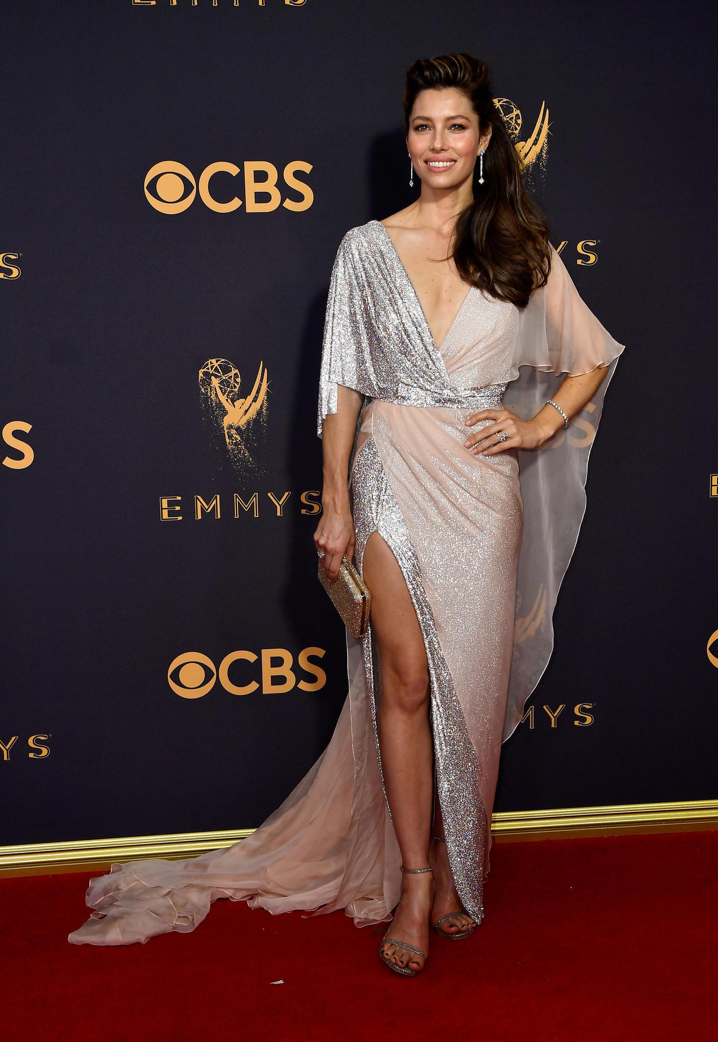 Emmys 2017 mit Jessica Biel