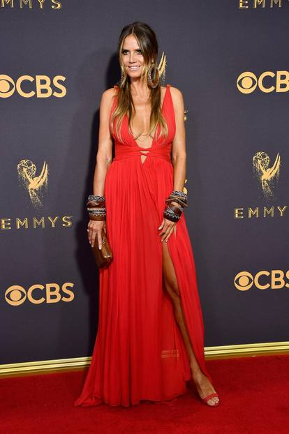 Emmys 2017 mit Heidi Klum
