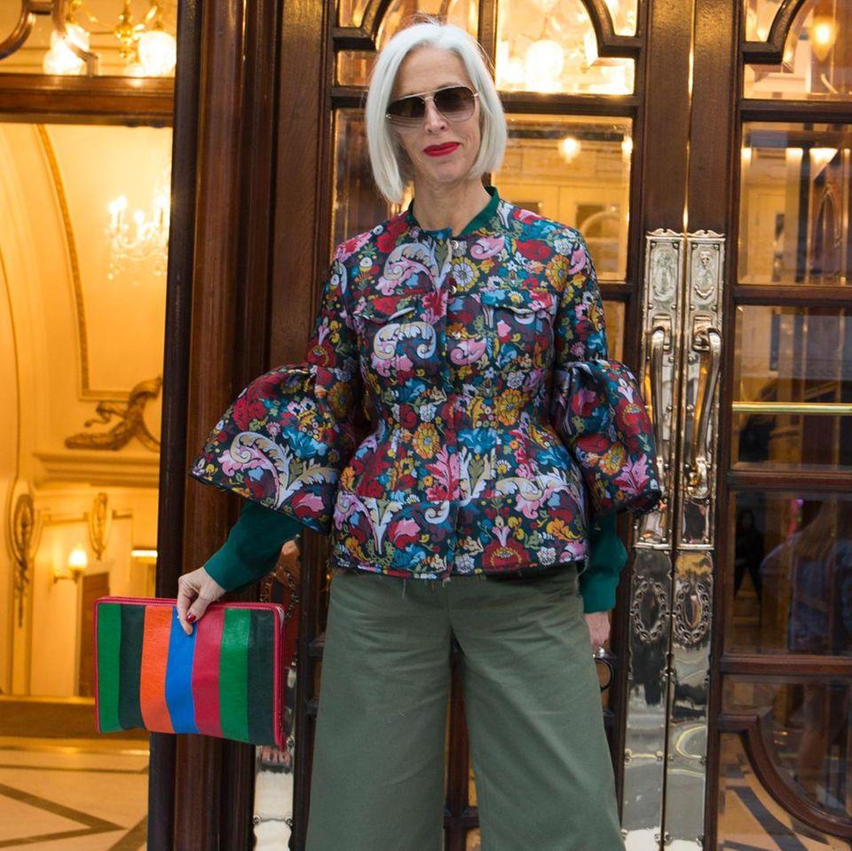 Streetstyle von der London Fashion Week
