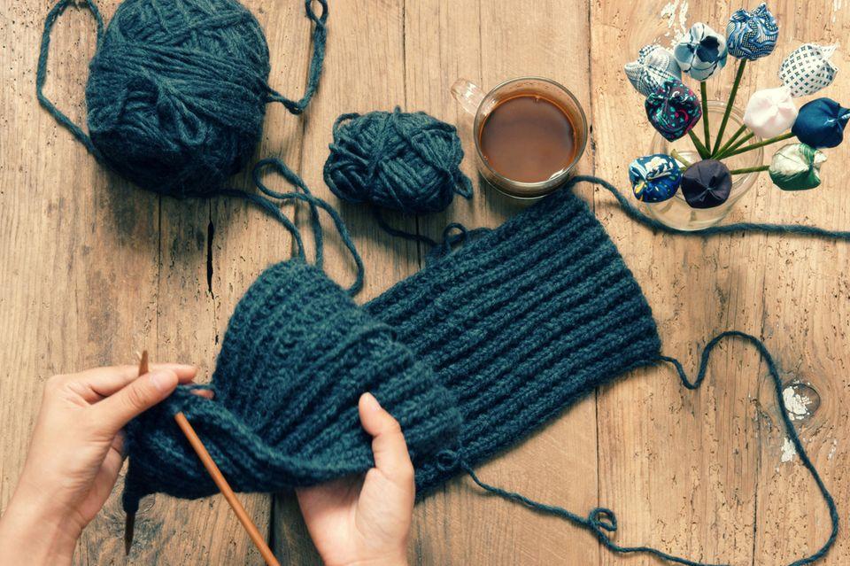 Schal stricken: Wir haben die Anleitungen für euch