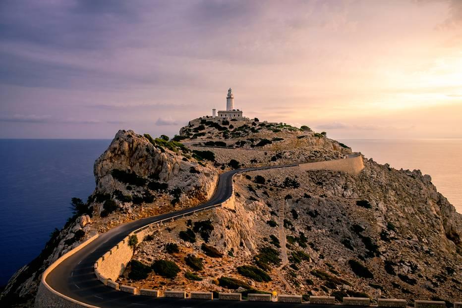Küstenstraßen: Die C710 auf Mallorca