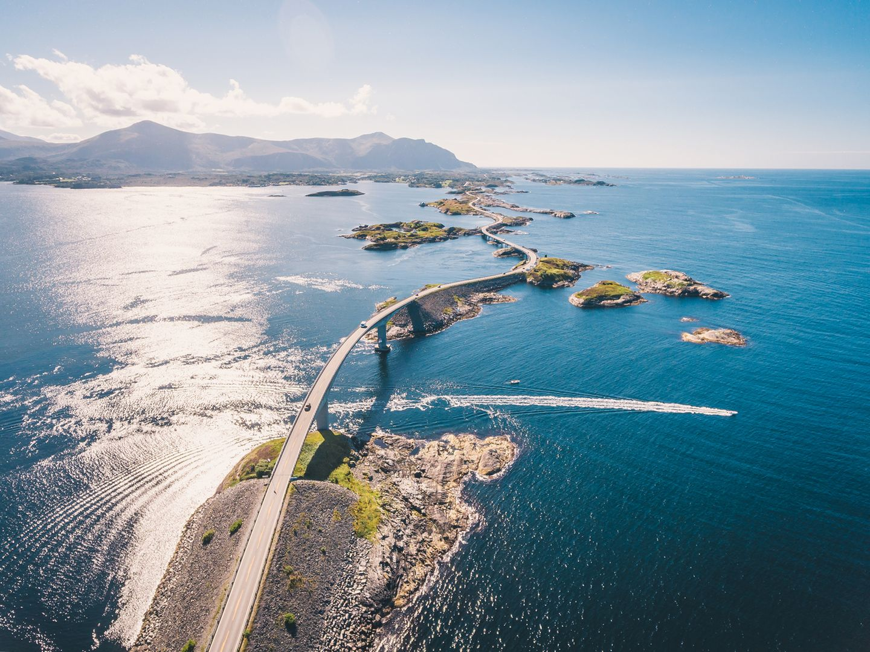 Europas Küstenstraßen: Die Atlantikstraße in Norwegen