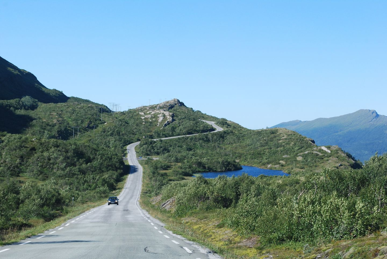 Küstenstraßen in Europa: Die Kystriksveien (Straße 17) in Norwegen