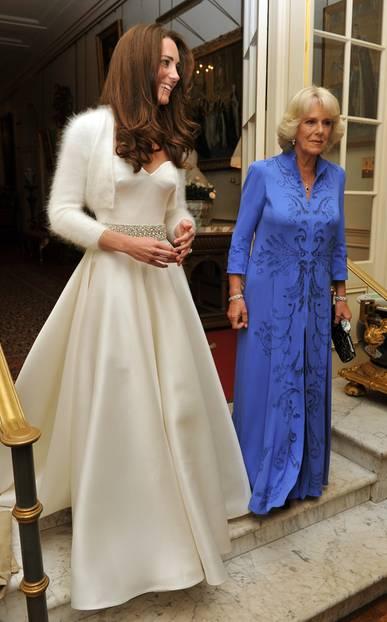 Herzogin Kate trägt ihr zweites Brautkleid