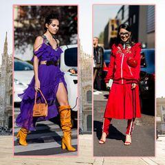 Milan Fashion Week Streetstyles