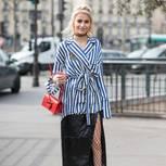 Strumpfhose an Bloggerin Caro Daur