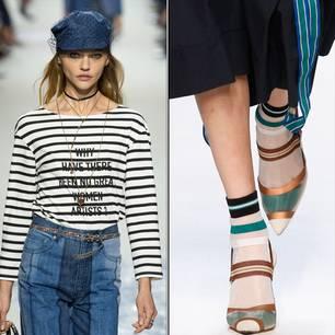 Accessoires-Trends 2018 auf den Laufstegen
