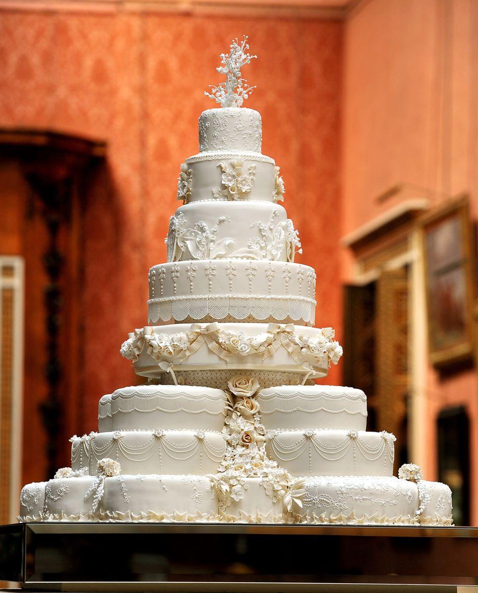 Warum ein Stück dieser Torte 730 Euro kostet - und was Kate damit zu tun hat