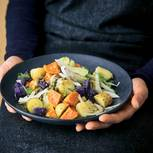 Bunter Kartoffelsalat mit Fenchel