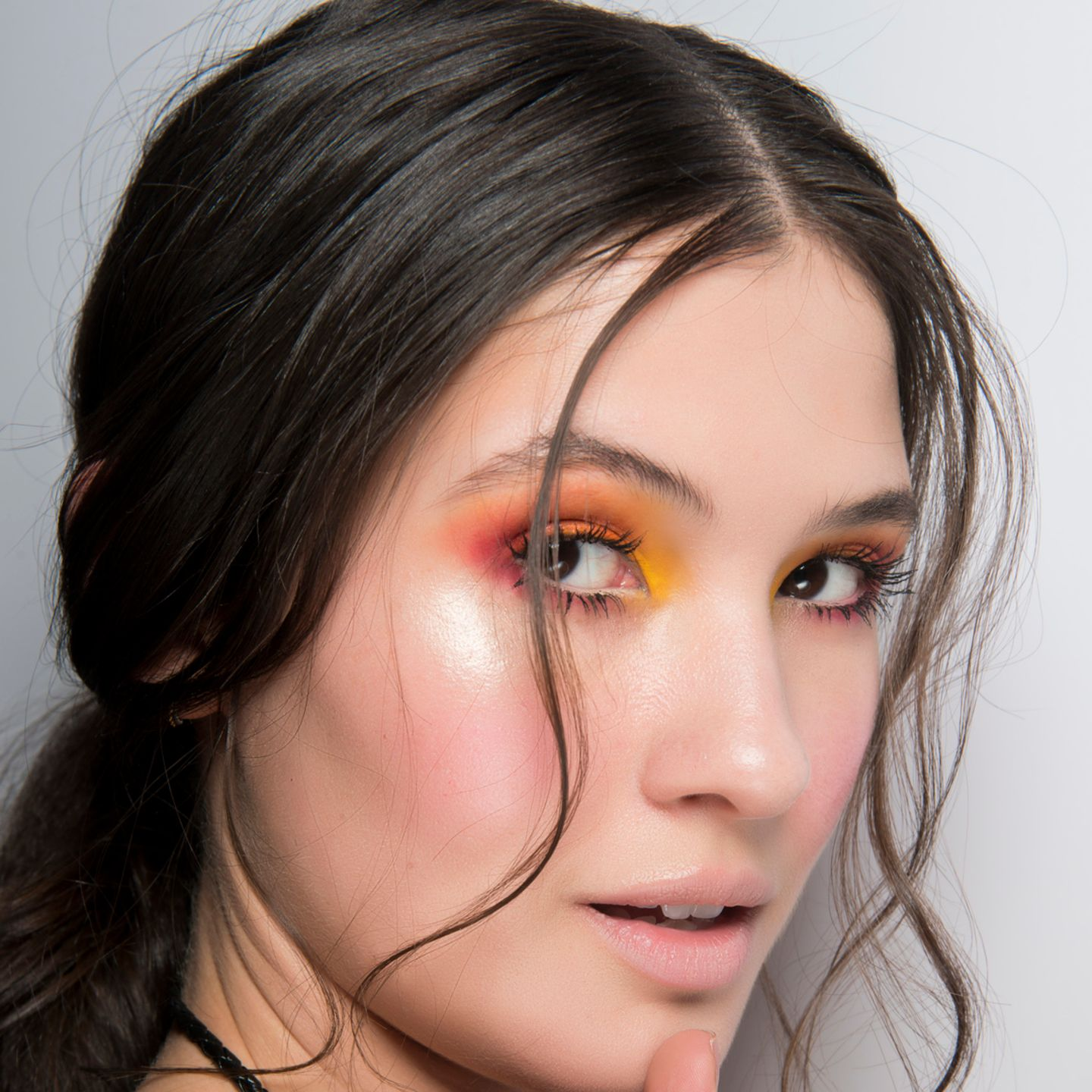 Make-up Trends 2018: Knalliger Lidschatten