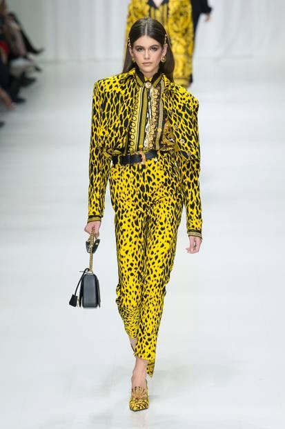 Animal-Print bei Versace