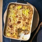 Kartoffel-Pilz-Lasagne