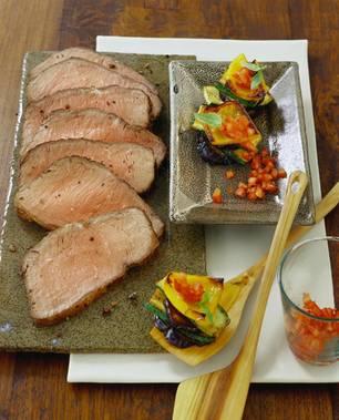 Roastbeef mit Pfeffer