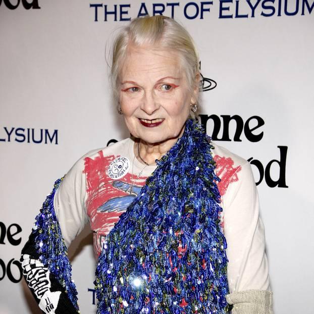 Vivienne Westwood auf dem roten Teppich