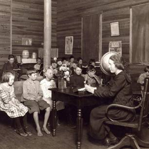 Regeln für Lehrerinnen: Foto aus Klassenzimmer