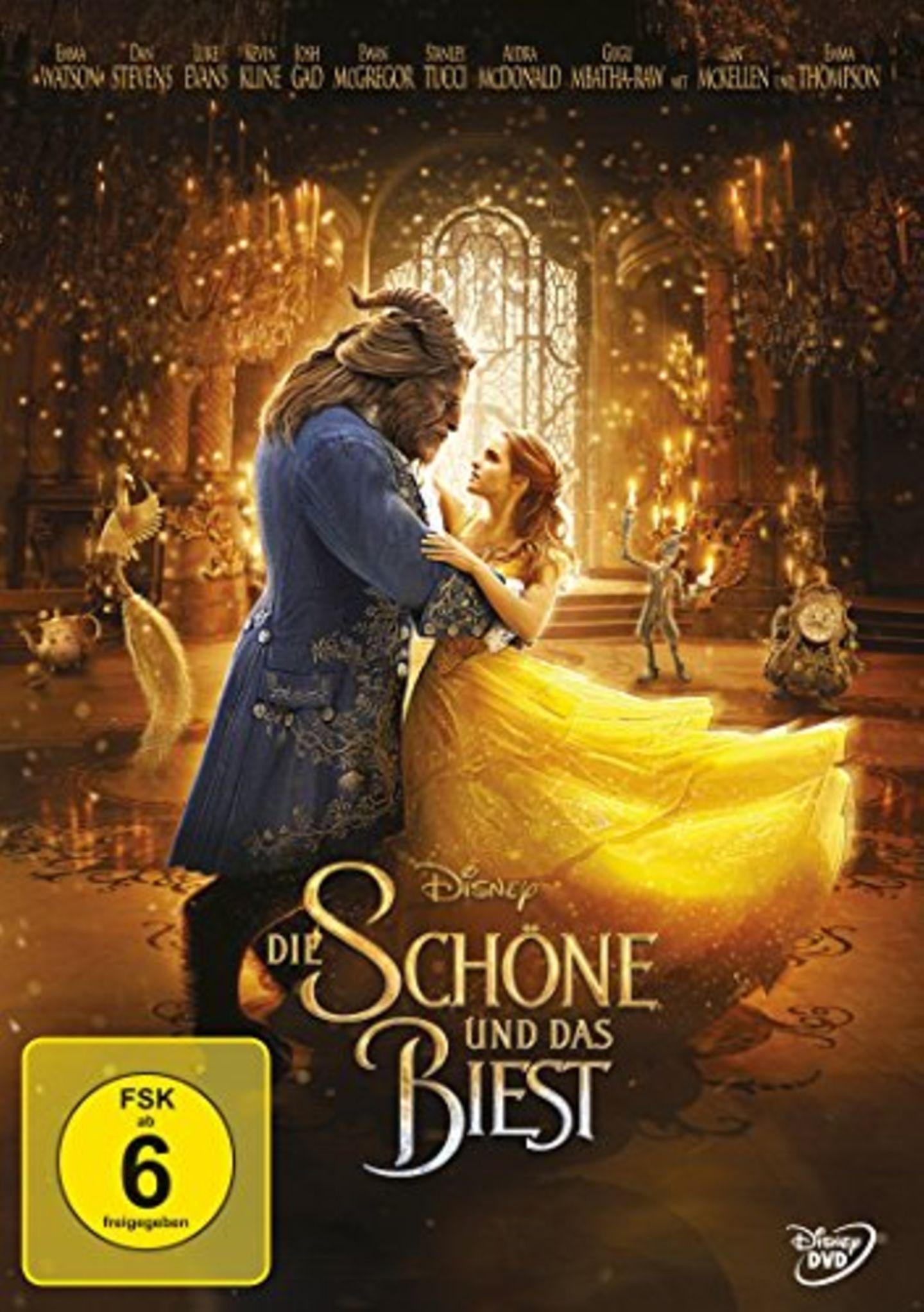 Liebesfilme: Die Schöne und das Biest - DVD-Cover