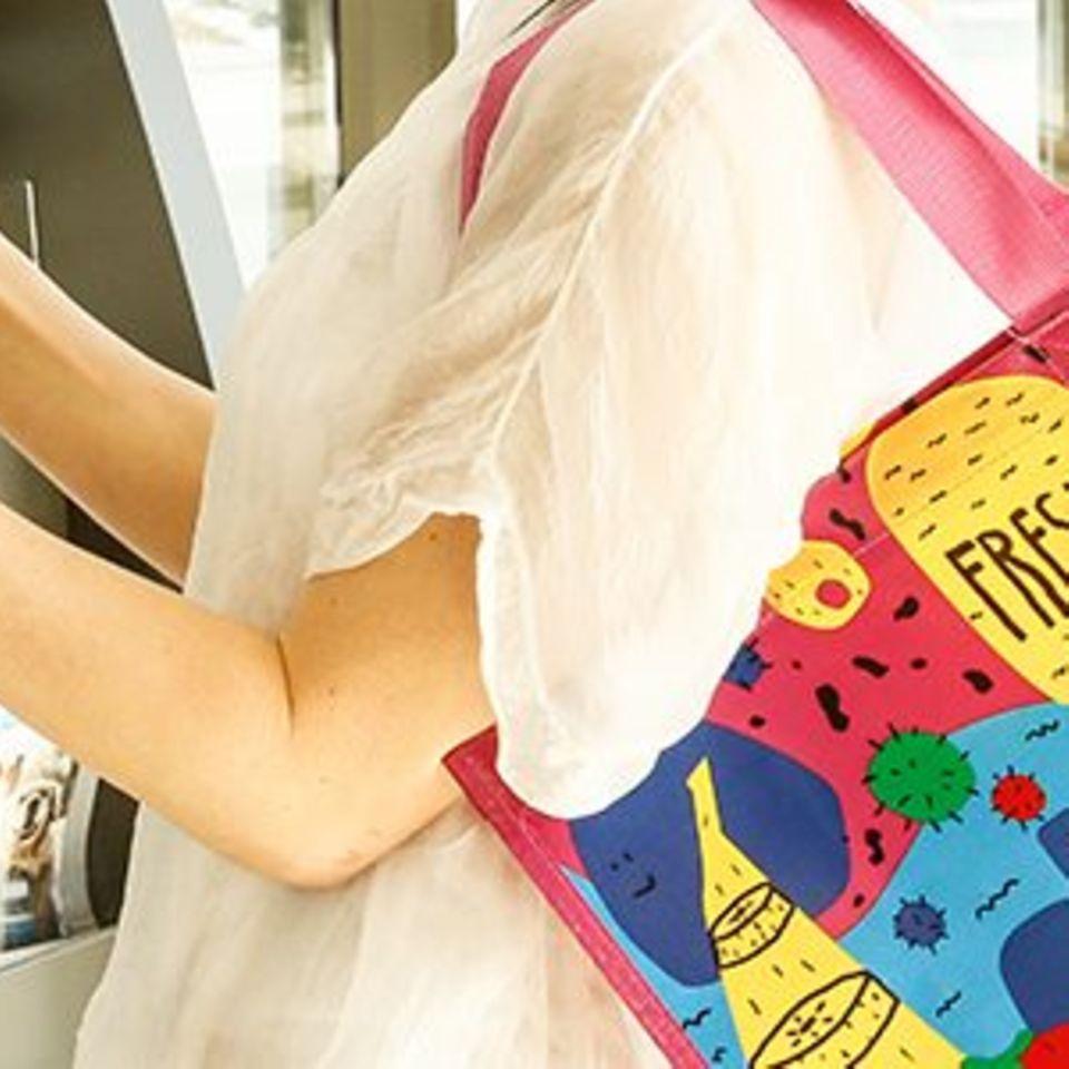 So hübsch sind die neuen Aldi-Mehrwegtaschen