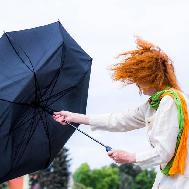 Wetterdienst warnt vor Orkanböen in der Lausitz