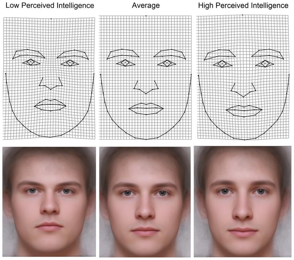 Intelligente Männer kennt man am Aussehen