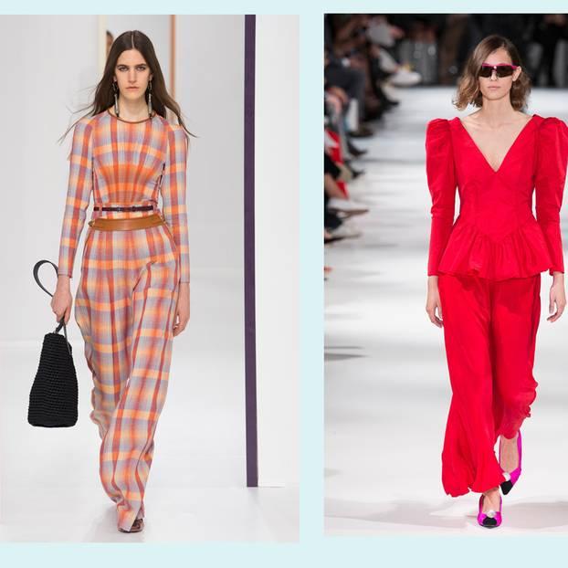 Trendvorschau der Paris Fashion Week