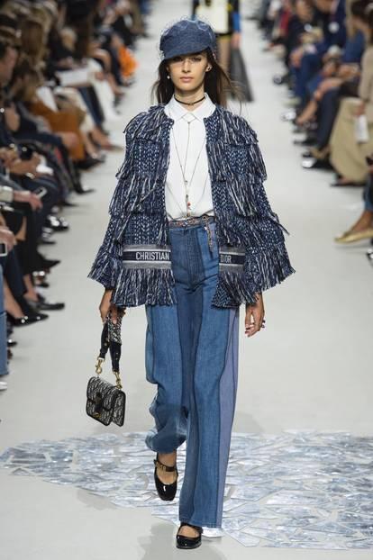 Fransenjacke bei Christian Dior