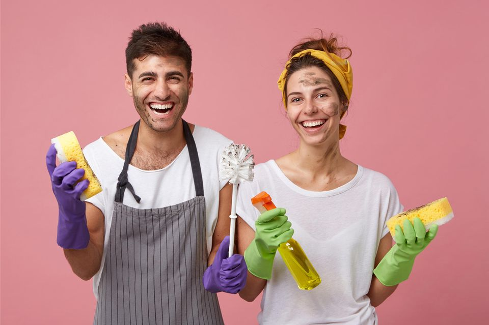 Haushalt: Putzen für Paare: 9 Tipps für mehr Gelassenheit
