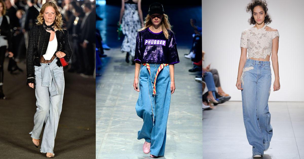 Denim-Trends 2018: Diese Jeans sind angesagt