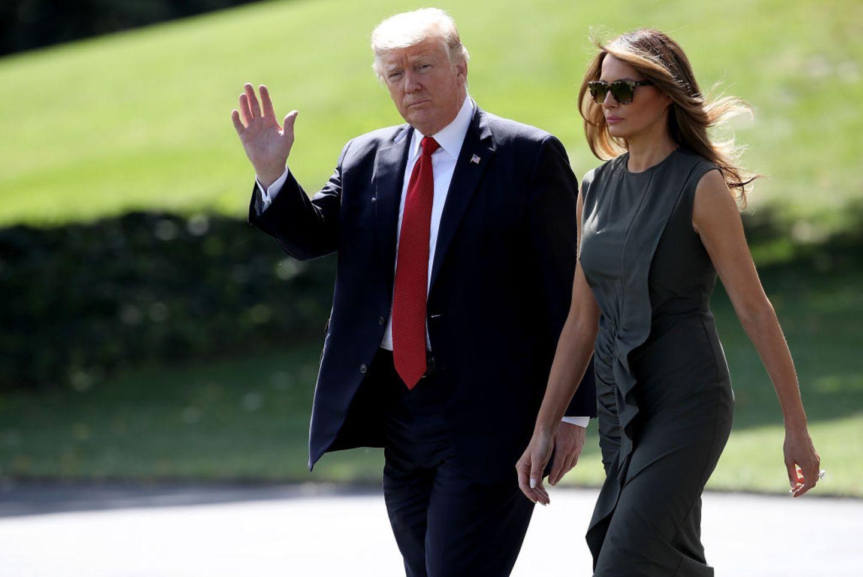 Irrer Zoff bei den Trumps: Ivana oder Melania - wer ist die wahre First Lady?