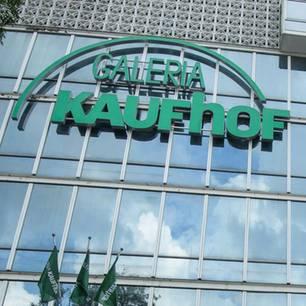 Galeria Kaufhof: Eine Fassade der Kaufhauskette.