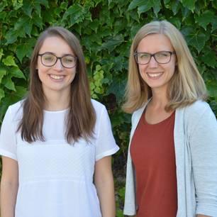 Mona Späth und Hanna Jakob