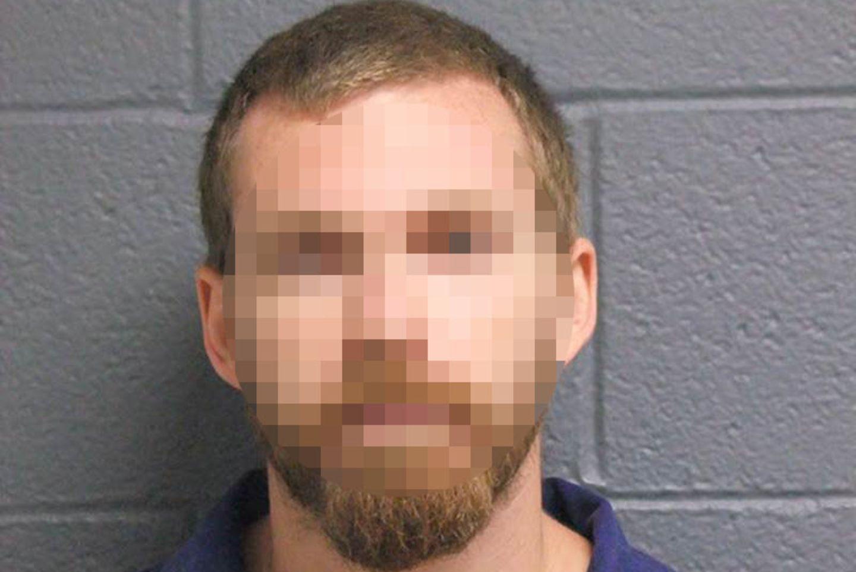 Der Täter auf einem Polizeifoto.