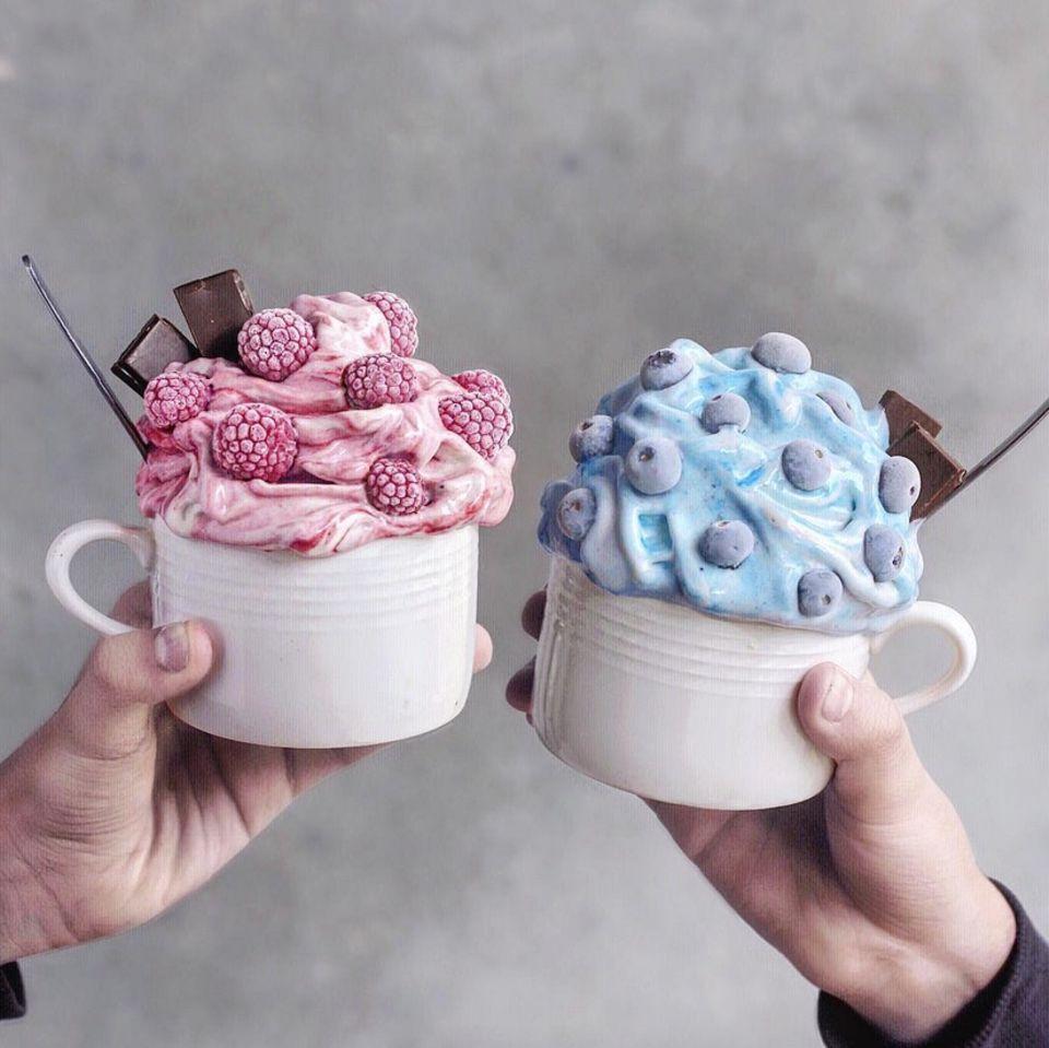Desserts in Pastell