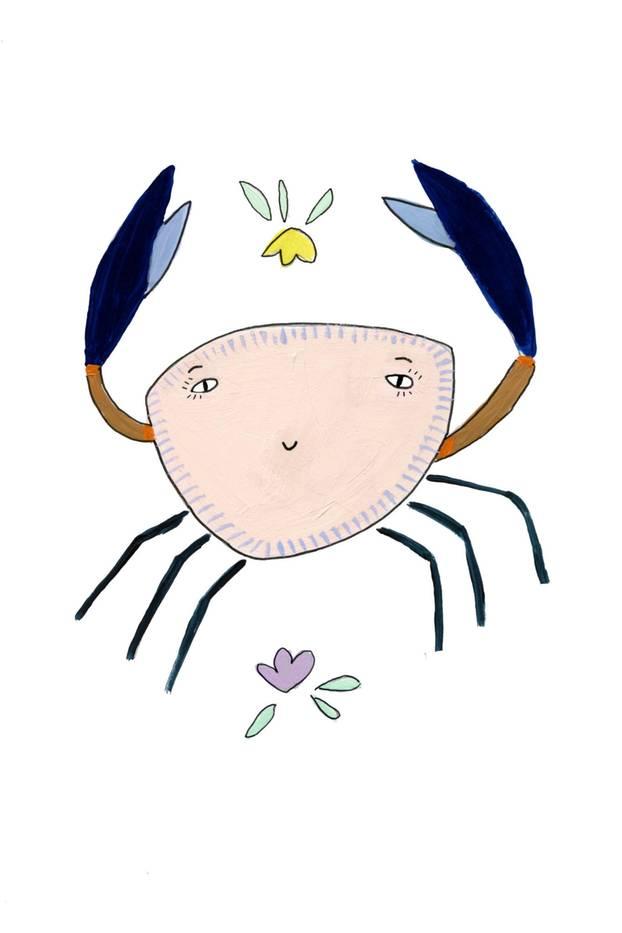 Jahreshoroskop Krebs: Zeichnung Krebs