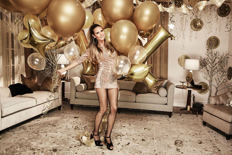 Heidi Klum zelebriert ihre neue Lidl-Kollektion