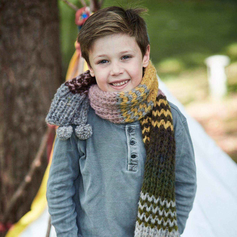 Kinderschal vom Schal fürs Leben 2017