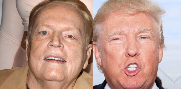 Larry Flynt und Donald Trump