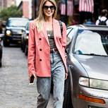 Mom-Jeans als Streetstyle