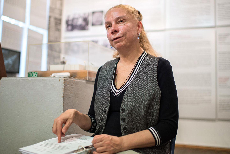 Alexandra Hildebrandt, Chefin des Mauermuseums in Berlin.