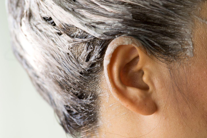 Haare selber färben