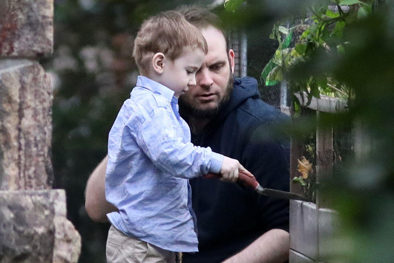 Vater Joshua Boyle mit seinem in Taliban-Gefangenschaft geborenen Sohn Jonah.