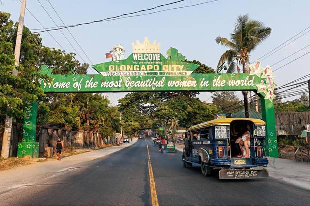 Willkommensschild Olongapo City