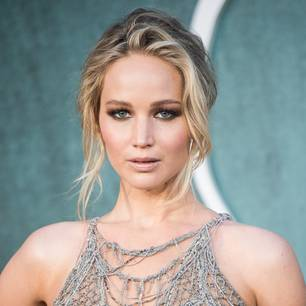 Jennifer Lawrence auf einem Event.