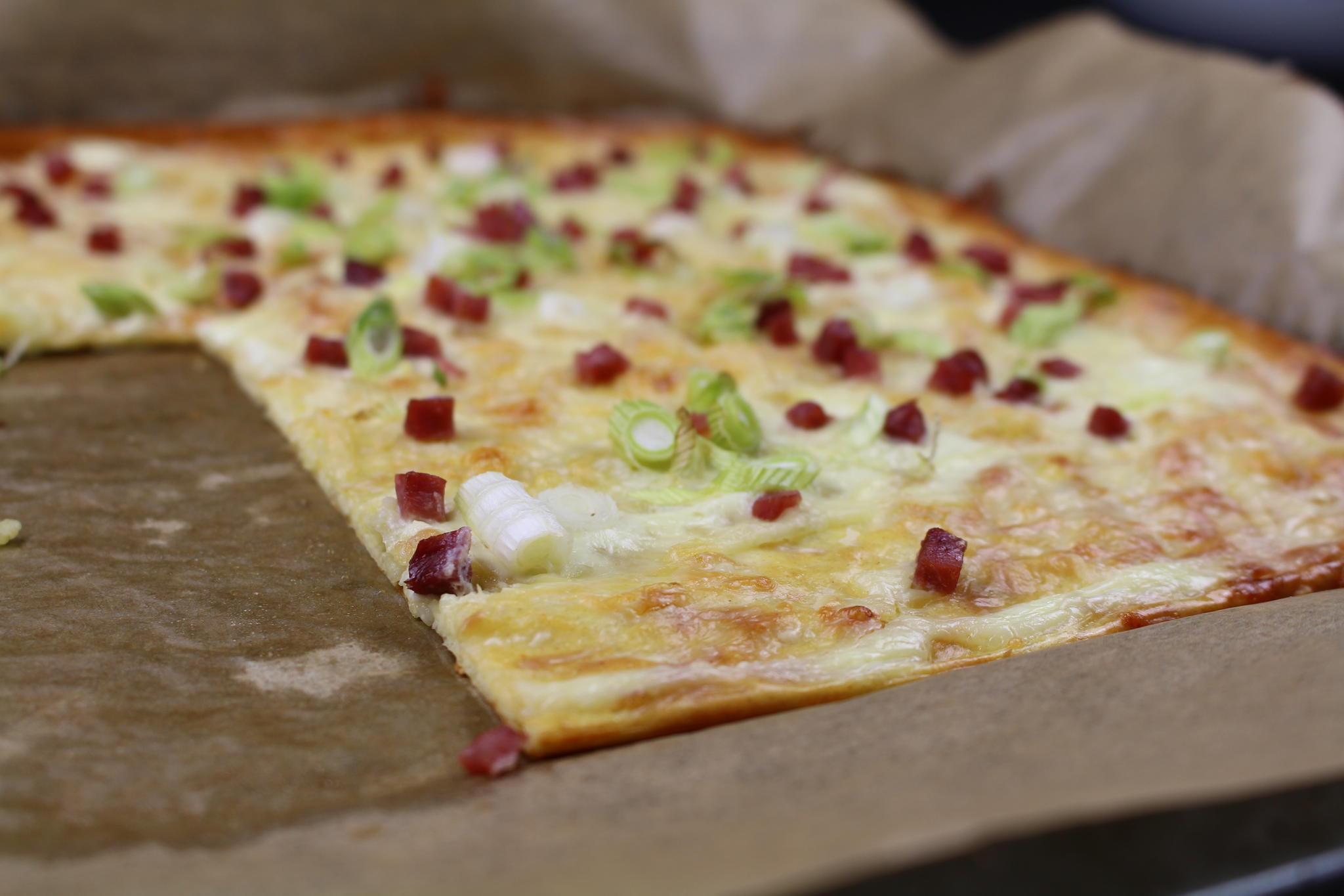 Low Carb-Flammkuchen