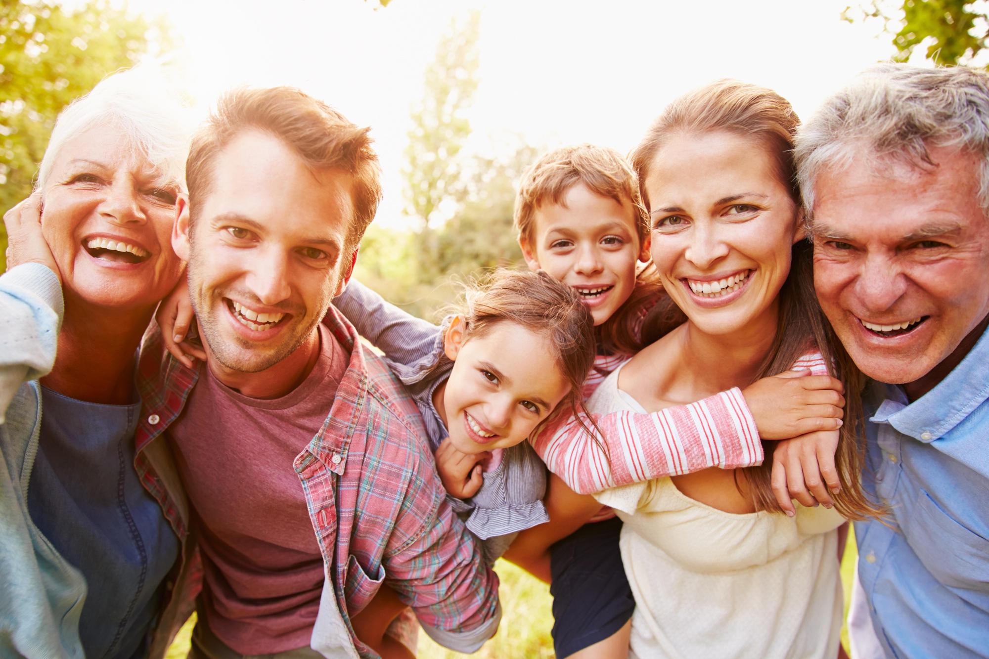 Zeit mit Familie verbringen