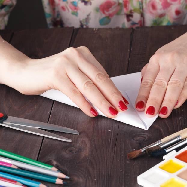 Briefumschlag falten: So geht's mit Origami
