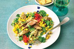 Makrelen-Mais-Salat