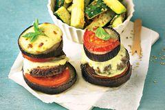 Low-Carb-Burger mit Zucchini